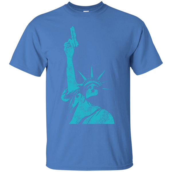 Statue Of Liberty Bearing Arms T-Shirt