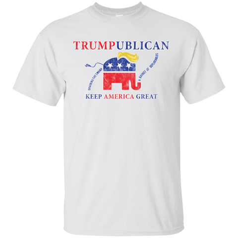 Trumpublican Elephant Draining The Swamp T-Shirt