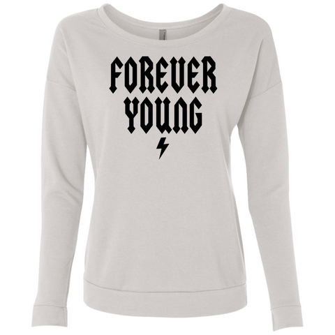 Forever Young / Next Level Ladies' French Terry Scoop