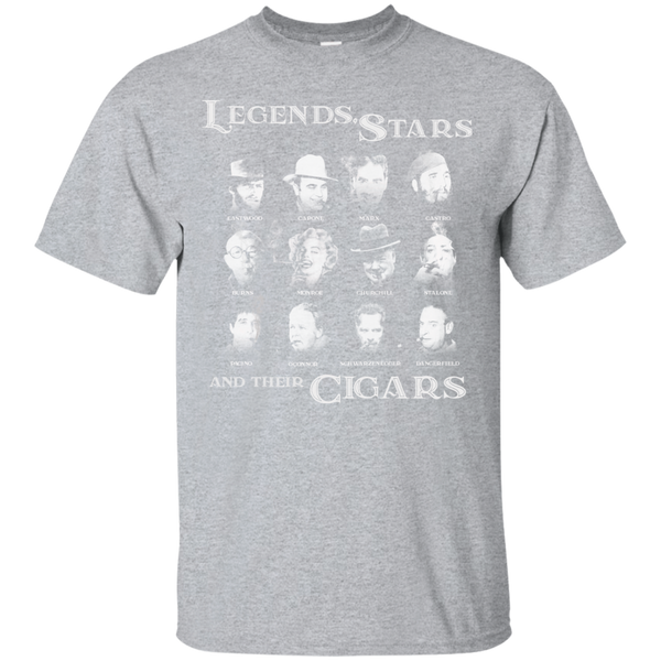 Legends, Stars And Their Cigars T-Shirt