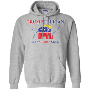 Trumpublican Draining The Swamp Hoodie