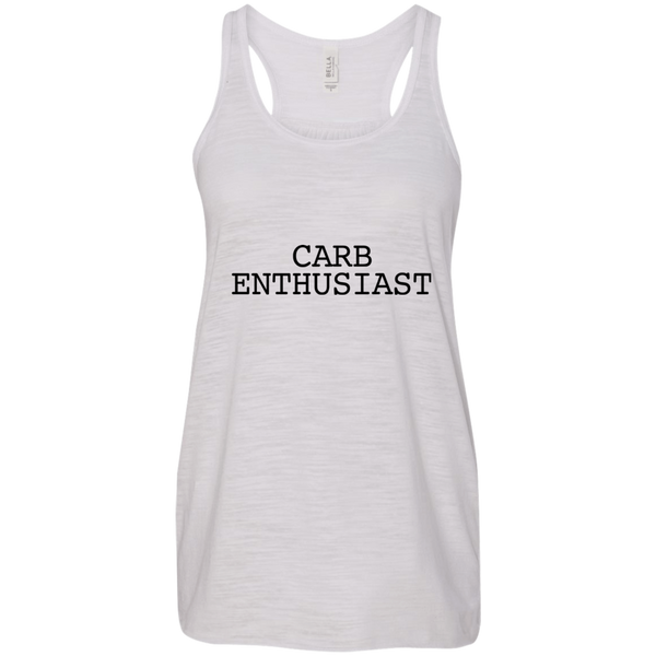 Carb Enthusiast / B8800 Bella + Canvas Flowy Racerback Tank