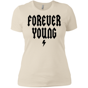 Forever Young / Next Level Ladies' Boyfriend T-Shirt