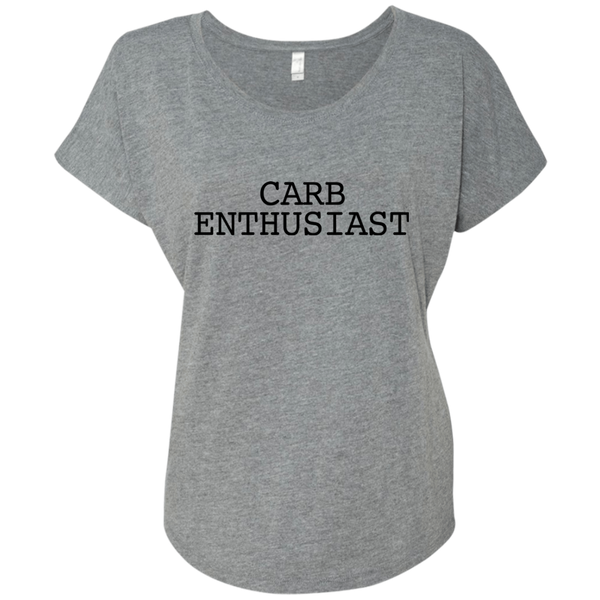 Carb Enthusiast / Next Level Ladies' Triblend Dolman Sleeve