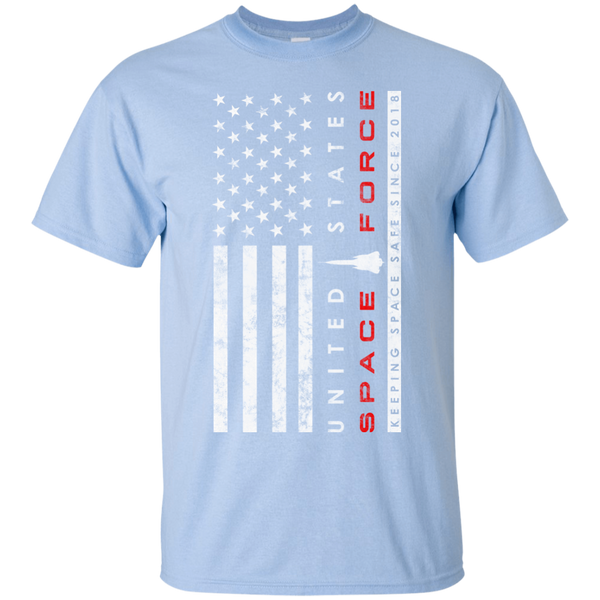 United States Space Force / Making Safe Since 2018 T-Shirt