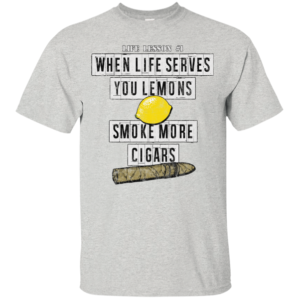 When Life Serves You Lemons. Smoke More Cigars T-Shirt