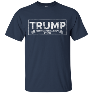 Swag Attack Gear Trump Keeping America Great 2020 Navy T-Shirt