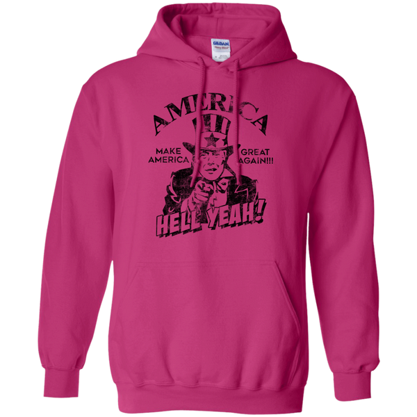 Donald Trump America Hell Yeah Make America Great Again Hoodie