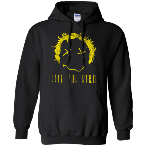 Bernie Sanders Feel The Bern Smiley Face Hoodie