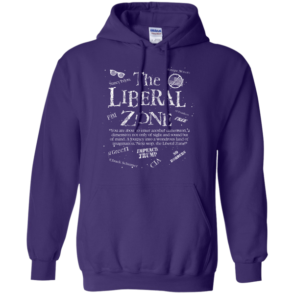 The Liberal Zone Hoodie Sweatshirt