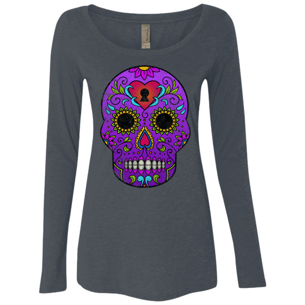 Calaca / Next Level Ladies' Triblend LS Scoop