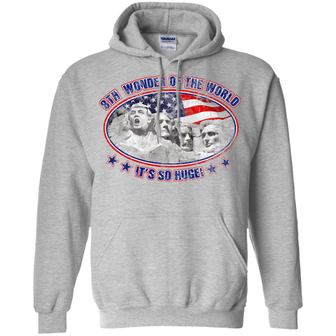 8th Wonder Of The World / Mount Trumpmore Hoodie