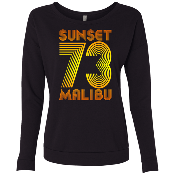 Sunset Malibu 73 / NL6931 Next Level Ladies' French Terry Scoop