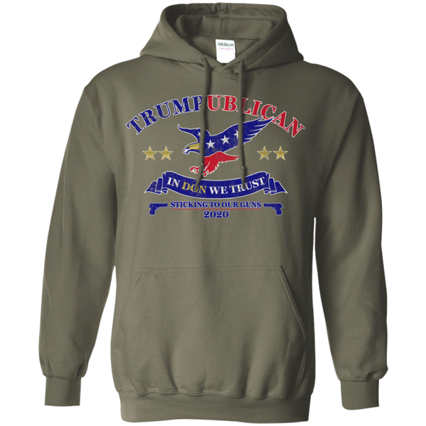 Trumpublican In Don We Trust Hoodie