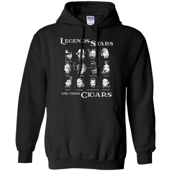 Legends, Stars And Their Cigars Hoodie