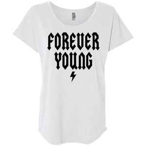Forever Young / Next Level Ladies' Triblend Dolman Sleeve