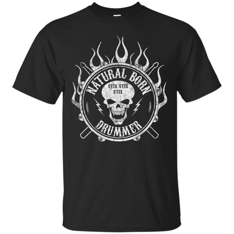 Natural Born Drummer T-Shirt