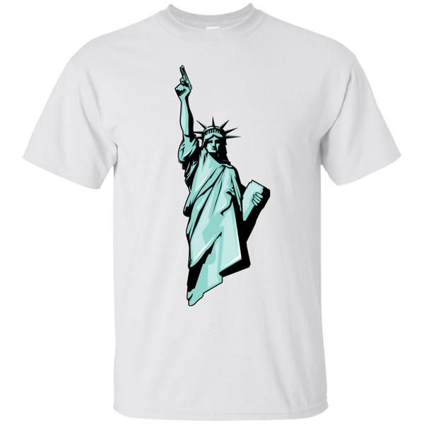 Statue Of Liberty with Gun T-Shirt