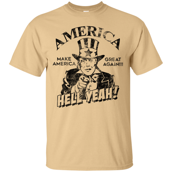 Donald Trump America Hell Yeah Make America Great Again T-Shirt