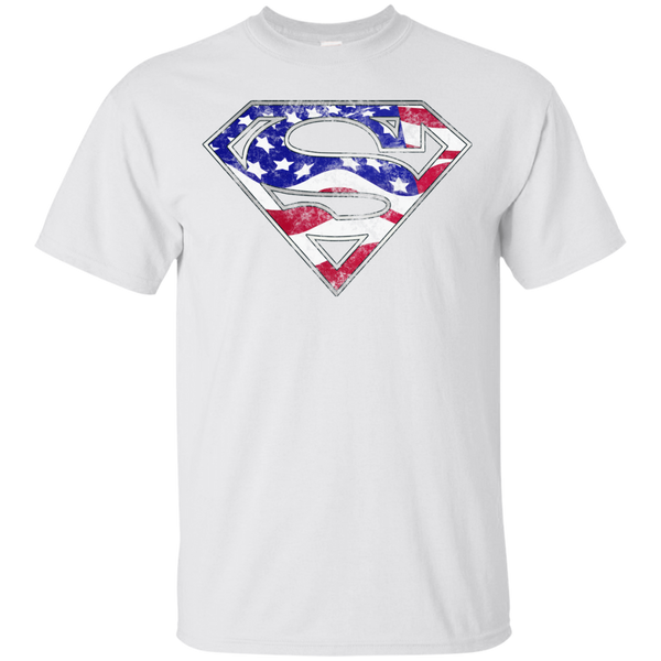 Superman American Flag T-Shirt