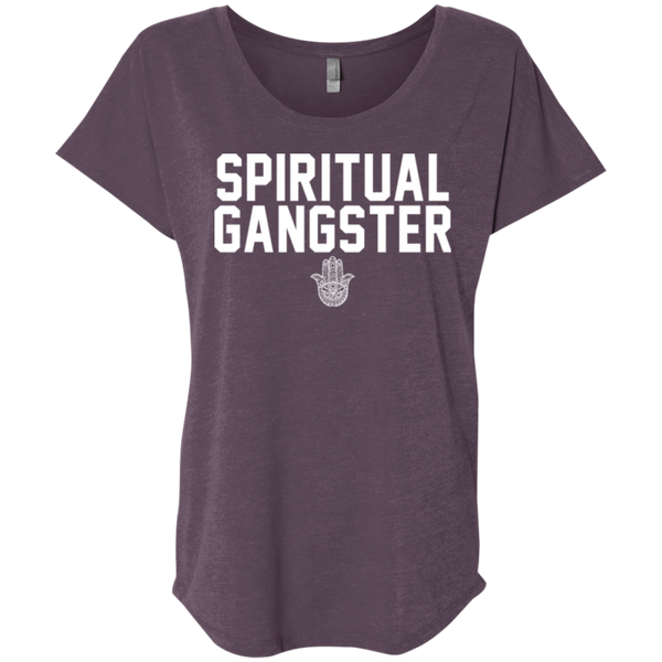 Spiritual Gangster / Next Level Ladies' Triblend Dolman Sleeve