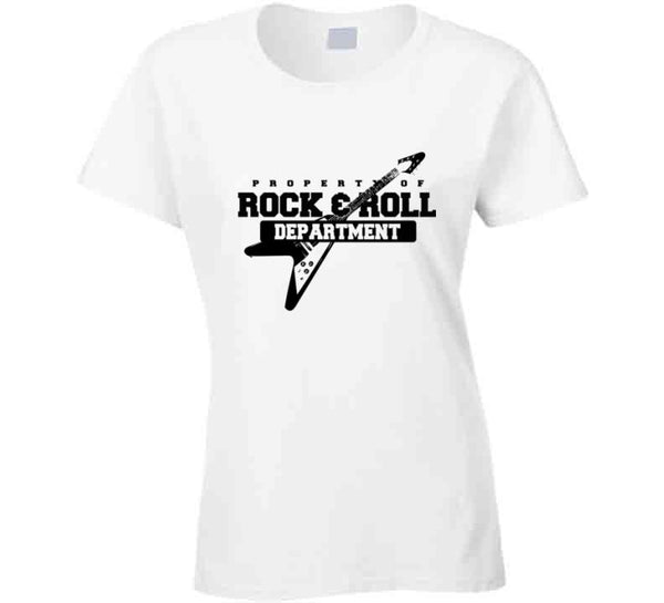 Property Of Rock And Roll Department T Shirt