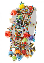 Guatemalan Multi Strand Colorful Bead Bracelet