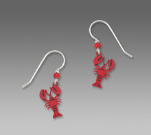 Sienna Sky Lobster Hand Painted Earrings
