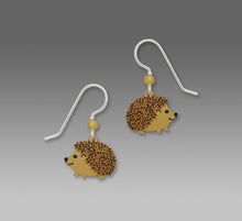 Sienna Sky Hedgehog Hand Painted Earrings