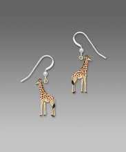 Sienna Sky Giraffe Hand Painted Earrings