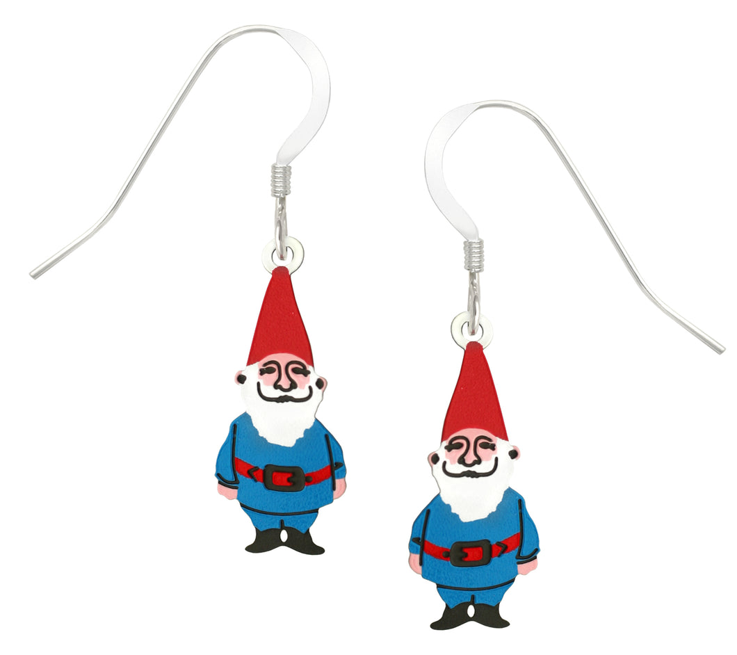 Sienna Sky Gnome Hand Painted Earrings