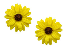 Sienna Sky Yellow Sunflower Post Stud Hand Painted Earrings