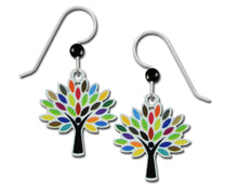 Sienna Sky Colorful Tree of Life Handmade Earrings