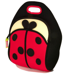 Dabbawalla Cute As A Bug Ladybug Kids Lunch Bag