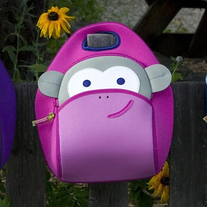 Dabbawalla Blushing Monkey Kids Pink Lunch Bag