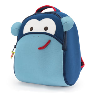 Dabbawalla Blue Monkey Kids Backpack