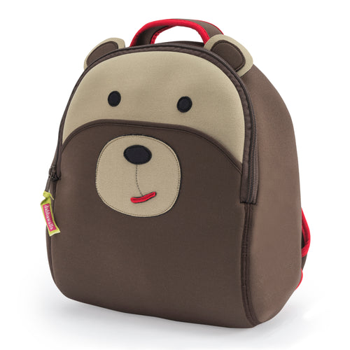 Dabbawalla Brown Bear Kids Backpack