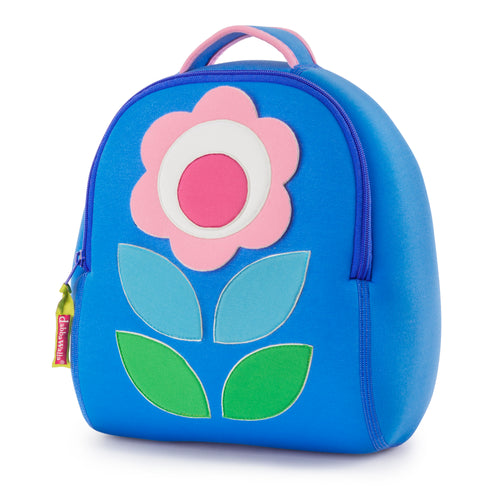 Dabbawalla Flower Petal Blue Kids Backpack