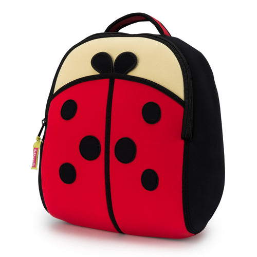 Dabbawalla Cute As A Bug Ladybug Kids Backpack
