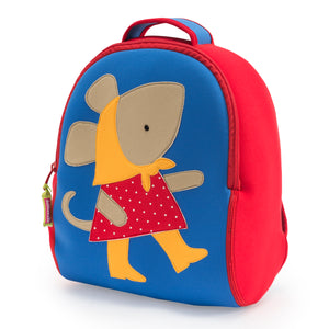 Dabbawalla Miss Polkadot Mouse Kids Backpack