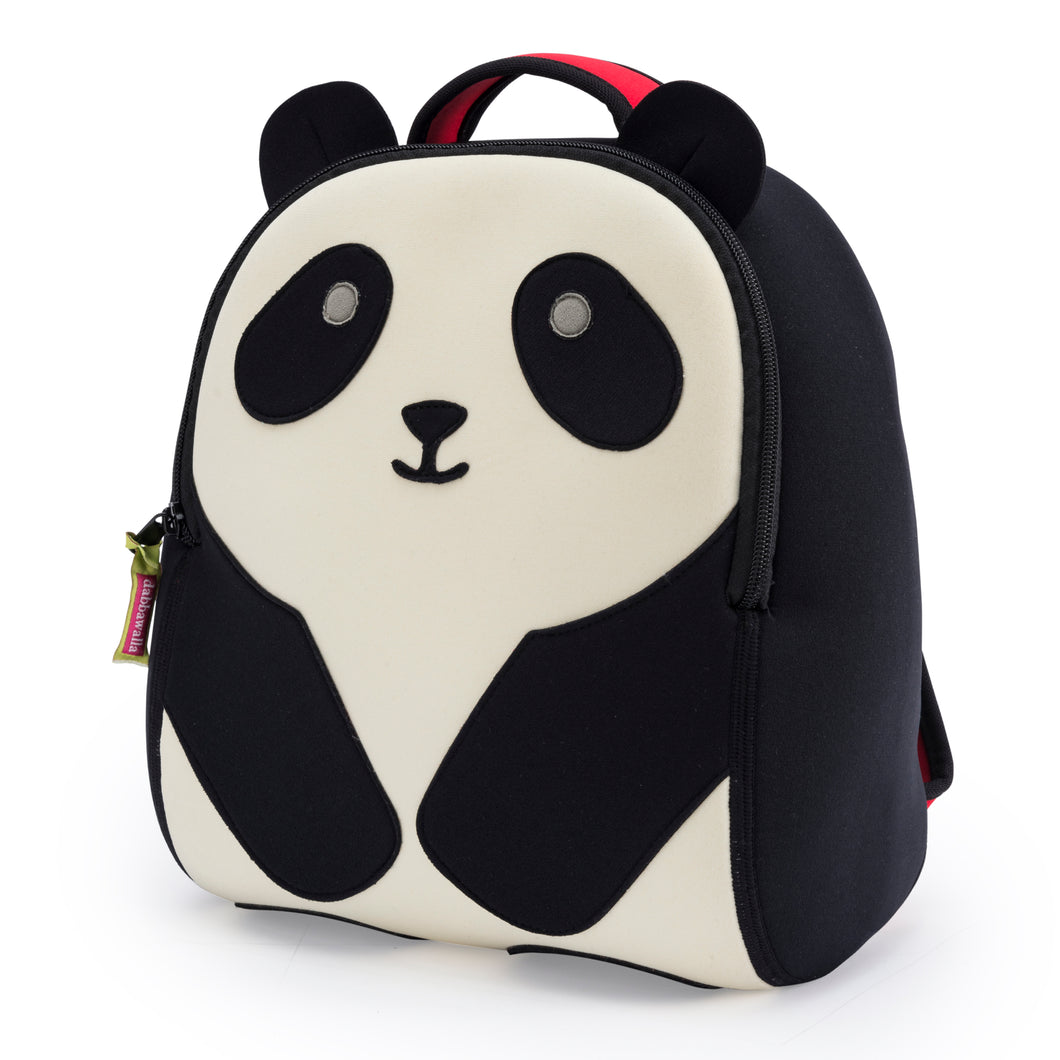 Dabbawalla Panda Bear Black White Kids Backpack