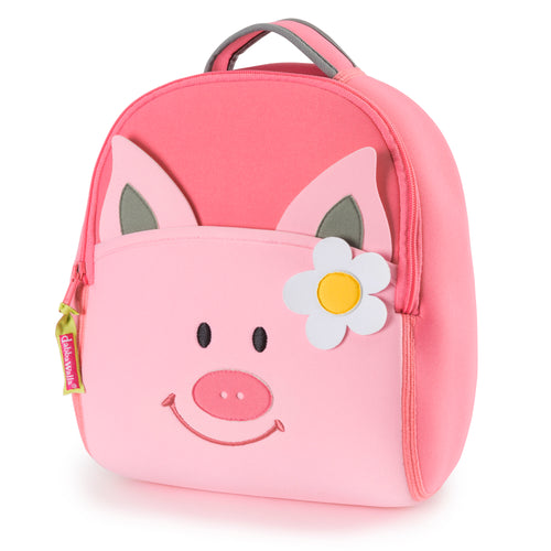 Dabbawalla Pink Pig Kids Backpack