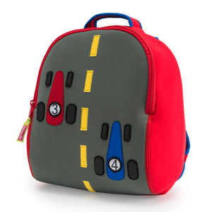Dabbawalla Race Car Kids Backpack