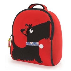 Dabbawalla Scottie Dog Kids Backpack