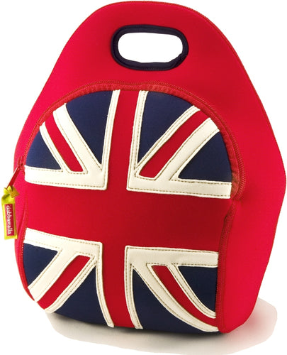 Dabbawalla British Invasion Union Jack Kids Lunch Bag