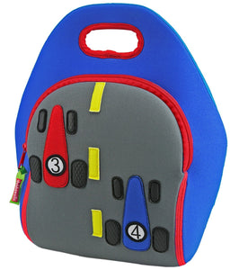 Dabbawalla Fast Track Race Car Kids Lunch Bag