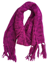 Fair Trade Thai Woven Raspberry Pink Handmade Scarf