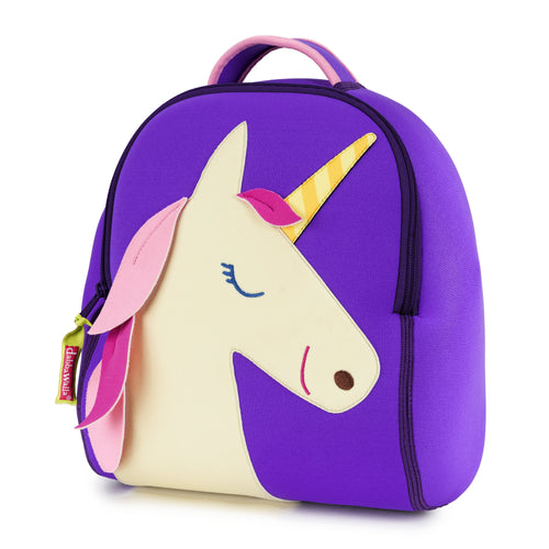 Dabbawalla Unicorn Purple Kids Backpack