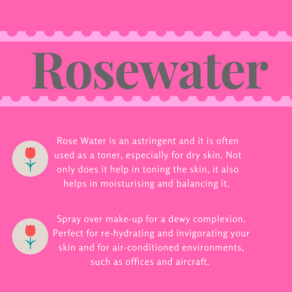 Rosewater In Skin Care
