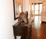On display at the Harbor View Hotel in Martha's Vineyard: Authentic 'Dogon Mask' from Mali Made in 1948
